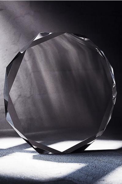 Trophée en verre : Médaille en verre 3