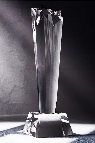 Trophée en verre : Pilonne 5