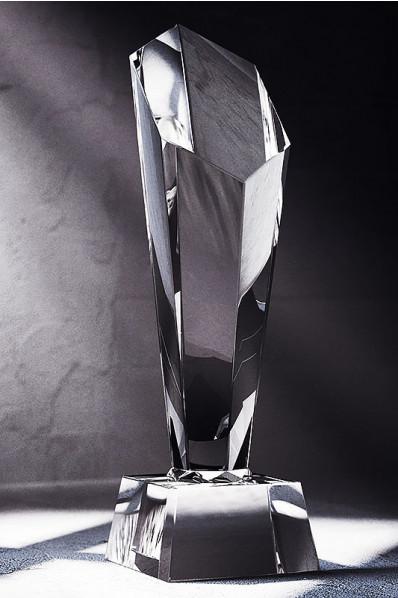 Trophée en verre : Pilonne 6
