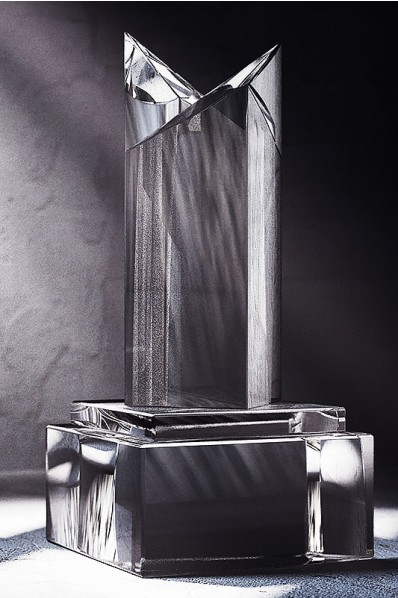 Trophée en verre : L'énorme
