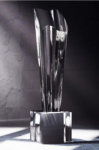 Trophée en verre : La coupe 2