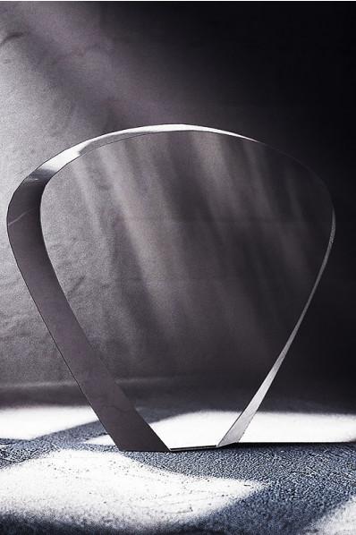 Trophée en verre :  L'éventail 2
