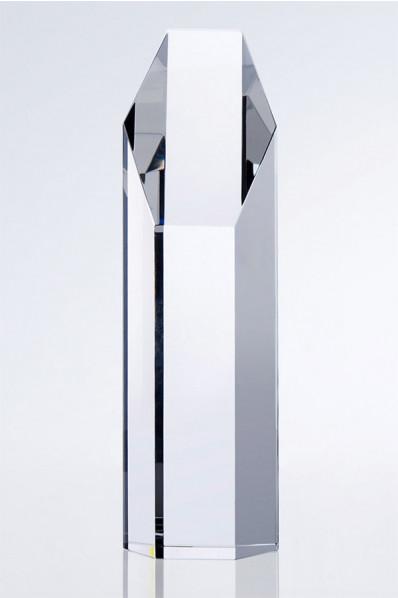 Trophée en verre : Prisme