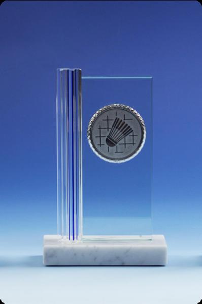 Trophée en verre : Plaque en verre 2