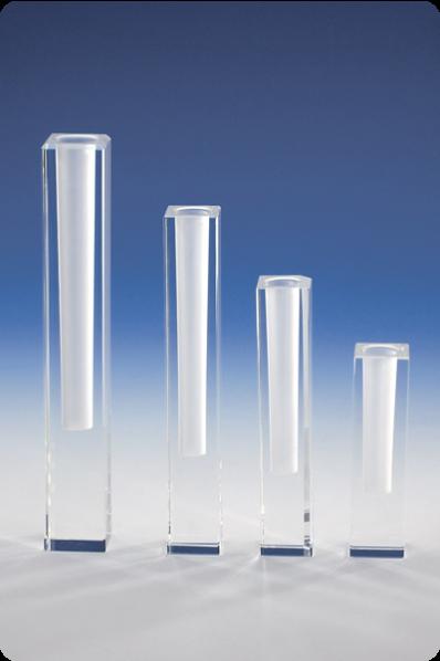 Trophée en verre : Vase