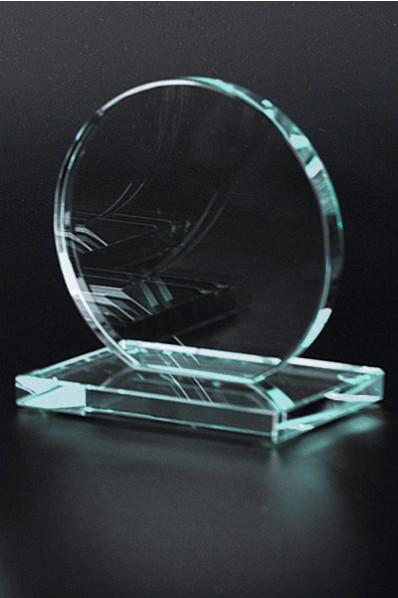 Trophée en verre : Trophée Rond