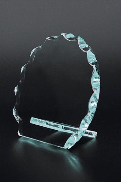 Trophée en verre : Rond photo