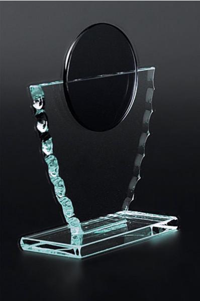 Trophée en verre : Médaille