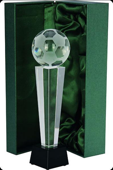 Trophée en verre : Football