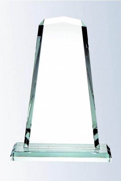 Trophée en verre : Bloc en verre