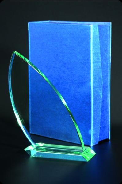 Trophée en verre : Larme