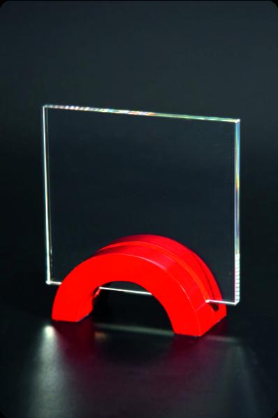 Trophée en verre : Base pont photo
