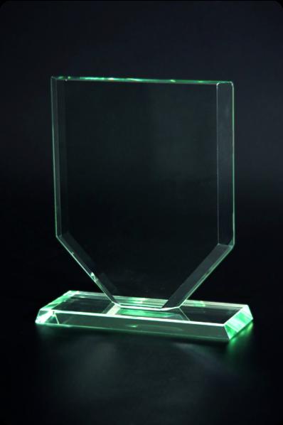 Trophée en verre : Plaque 5
