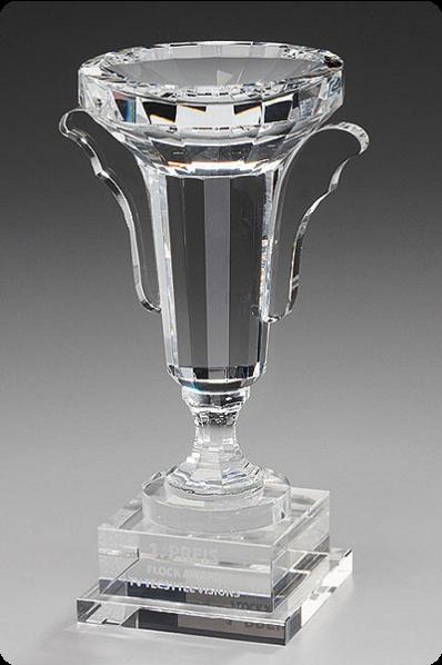Trophée en verre : La coupe