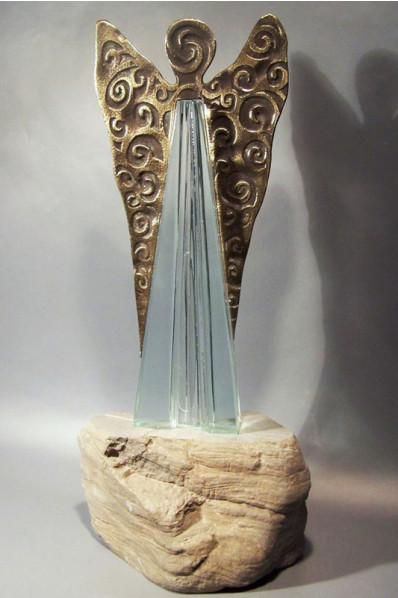 Trophée en verre : Ange