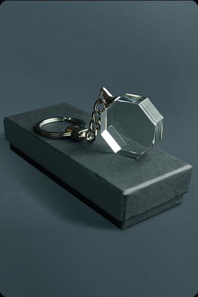 Trophée en verre : Porte-clés 2