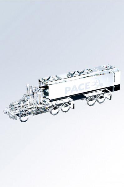 Camion en verre