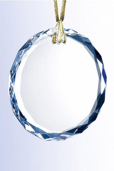 Médaille en verre
