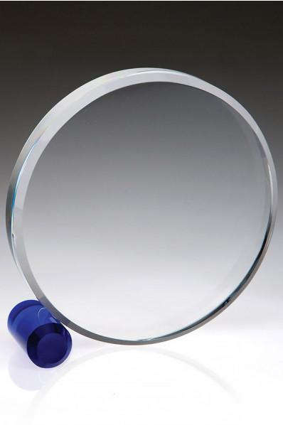 Disque en verre épais