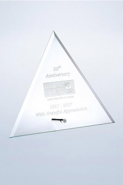Statuette triangulaire