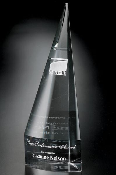 Statuette en verre