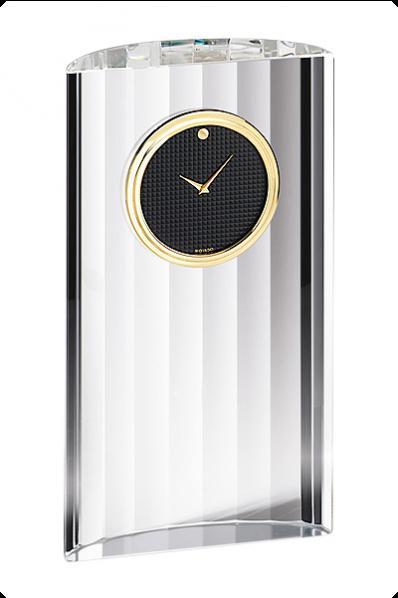 Trophée en verre : Horloge 4