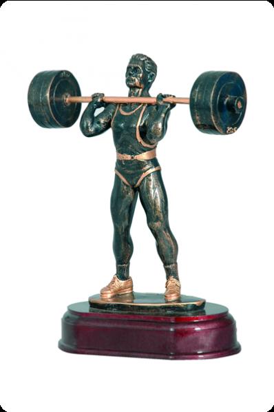 Statuette Haltérophile