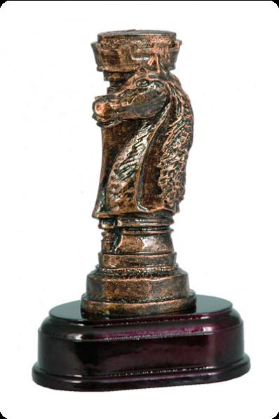 Tour et cheval d'échecs