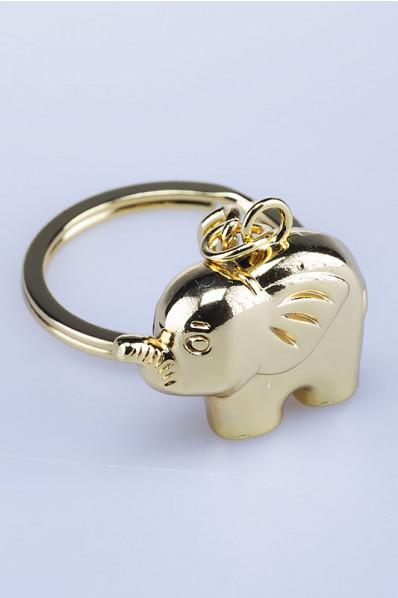 Porte-clé Éléphant avec trompe.