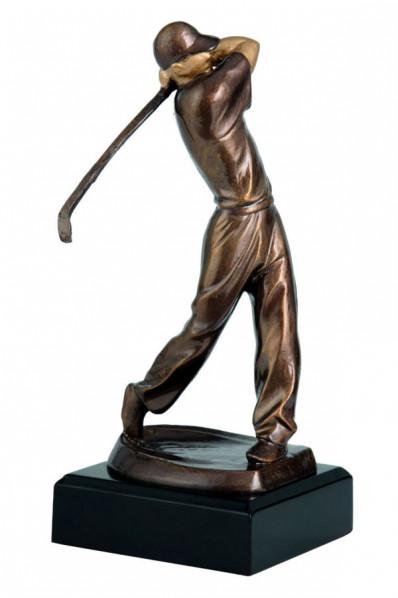 Silhouette de golfeur