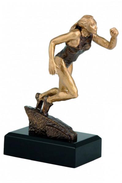 """Statuette """"Femme de course à pied"""""""