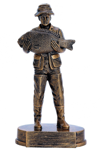 Pêcheur avec poisson III