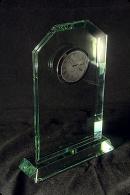Trophée en verre : Montre