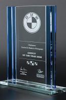 Trophée en verre : Agence de l'année 2006