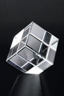Trophée en verre : Cube