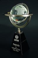 Trophée en verre : Astrolabe planisphérique