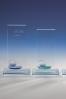 Statuettes avec boules en verre