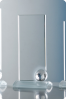 Statuette avec ballon en verre