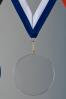 Trophée en verre : Médaille en verre 2