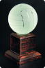 Trophée en verre : Volley-ball