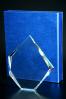 Trophée en verre : Asymétrique