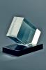 Trophée en verre : Presse-papier prime