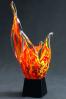 Trophée en verre : Flamme 2
