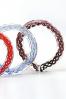Bracelets en verre coloré