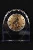 Trophée en verre : Horloge squelette