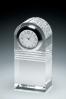 Horloge avec cristal