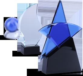 Trophées de cristal