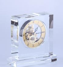 Horloges de cristal